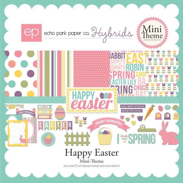 Happy Easter Mini-Theme