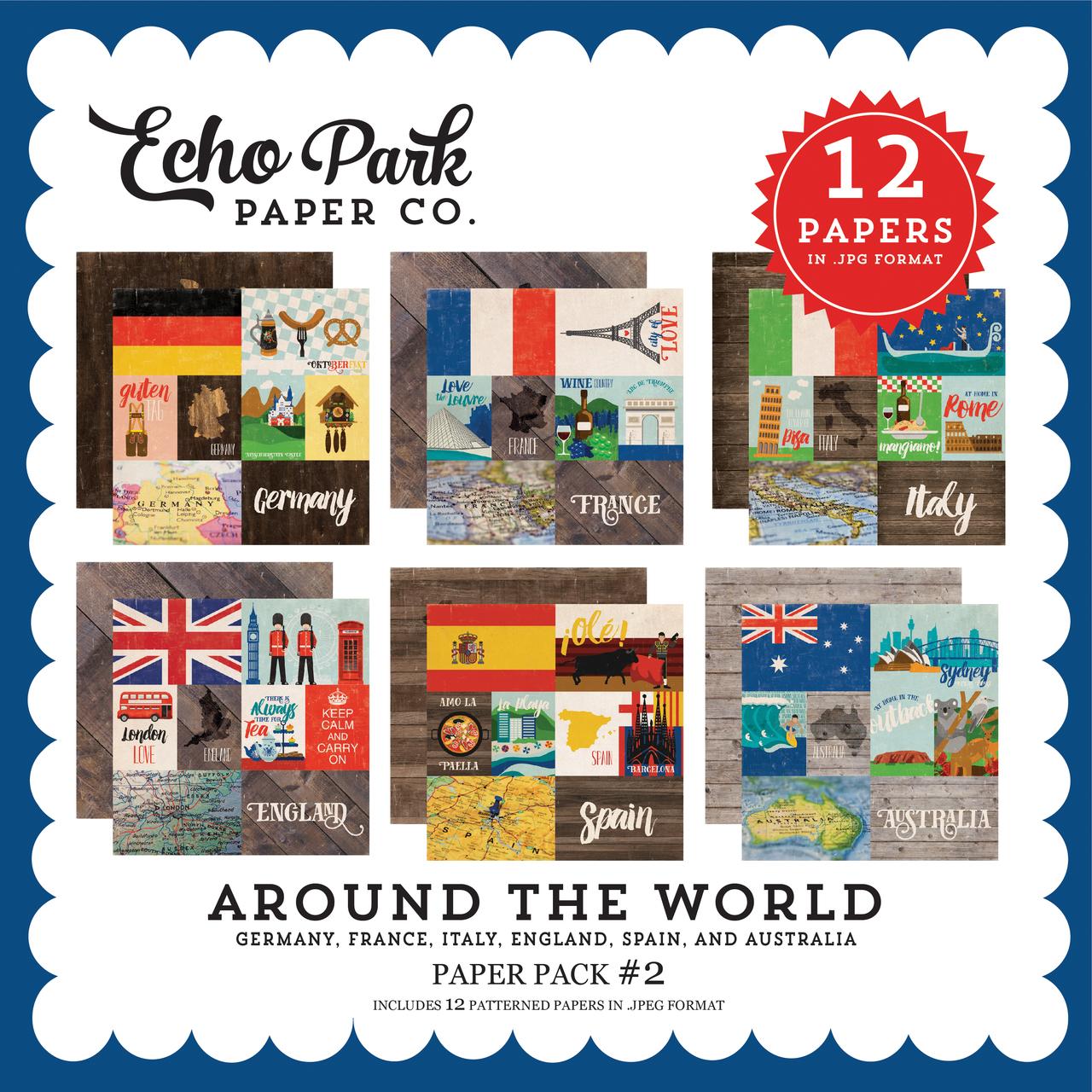 Around the World Paper Pack #2