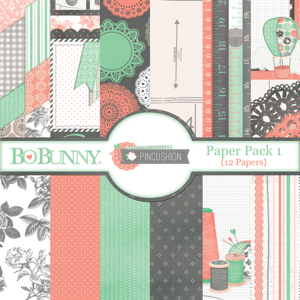 Pincushion Paper Pack 1