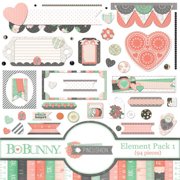 Pincushion Element Pack 1