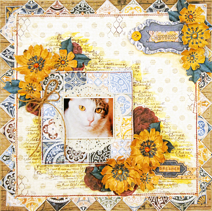 Layout by Lisa Gregory