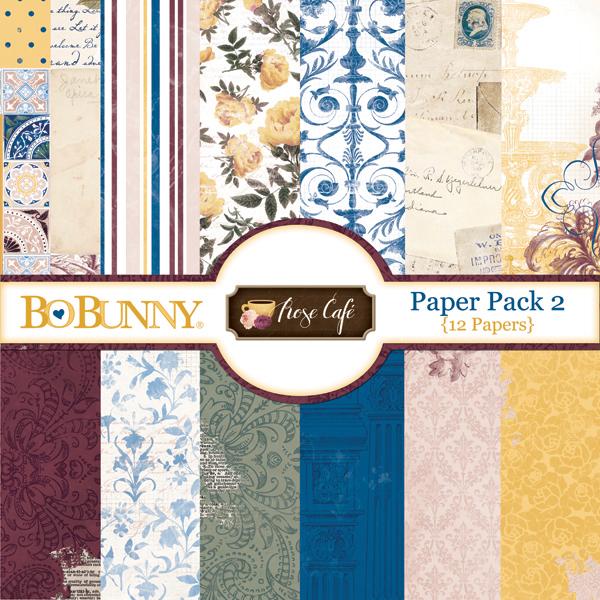 Rose Café Paper Pack 2