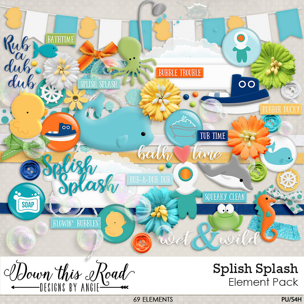 Splish Splash Elements Pack