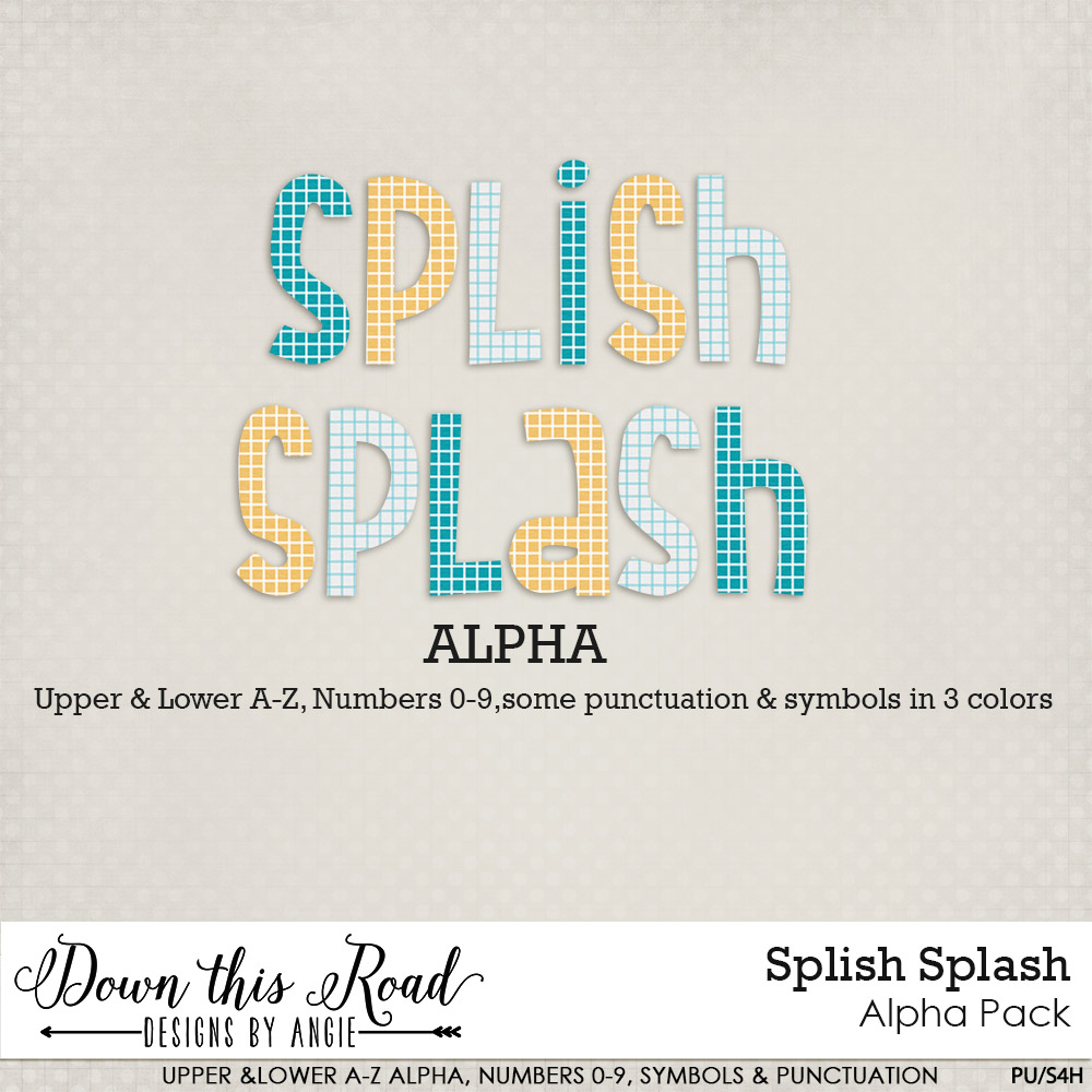 Splish Splash Alpha Pack