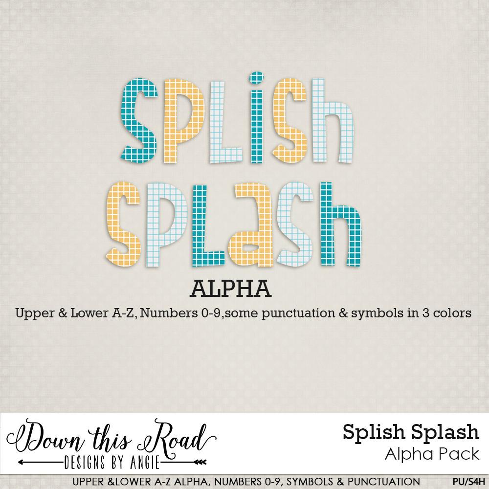 Splish Splash Alpha Pack