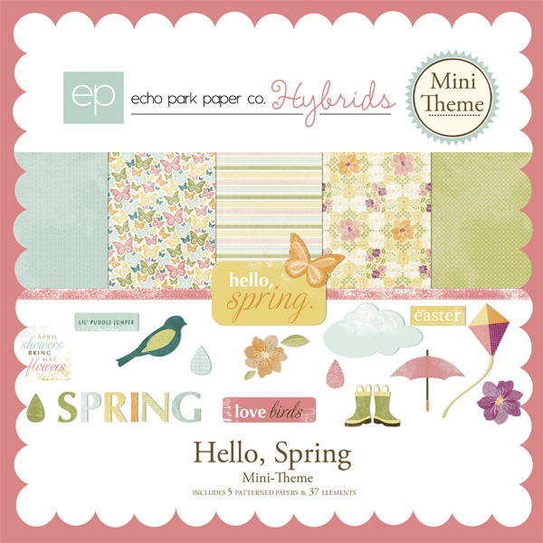 Hello Spring Mini-Theme