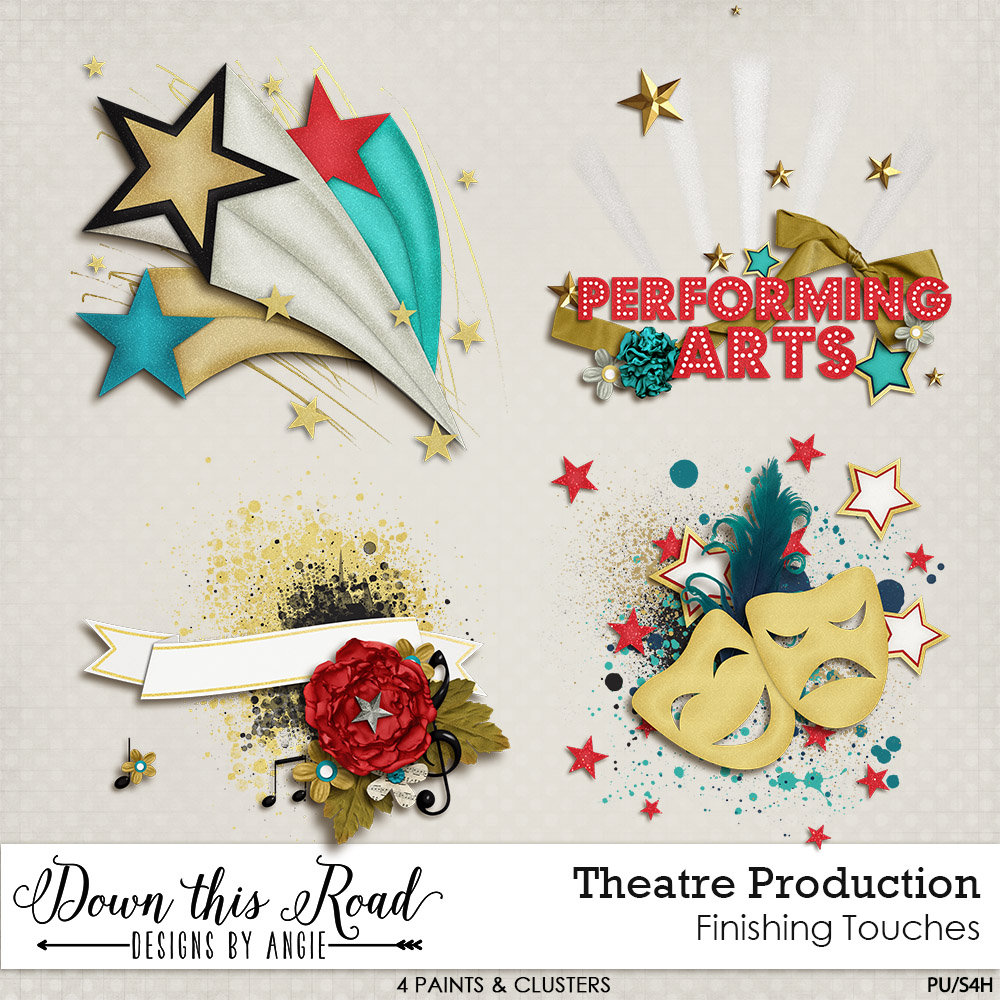 Theatre Production Finishing Touches