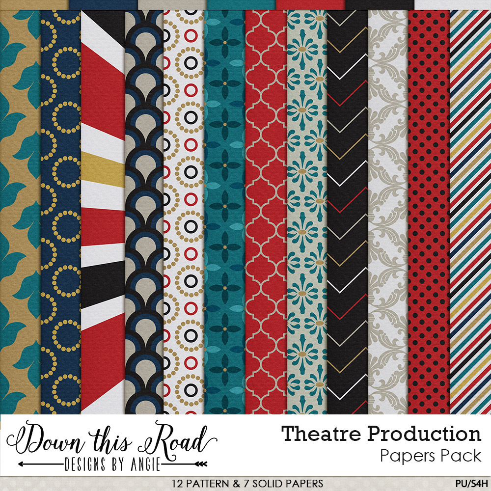 Theatre Production Paper Pack