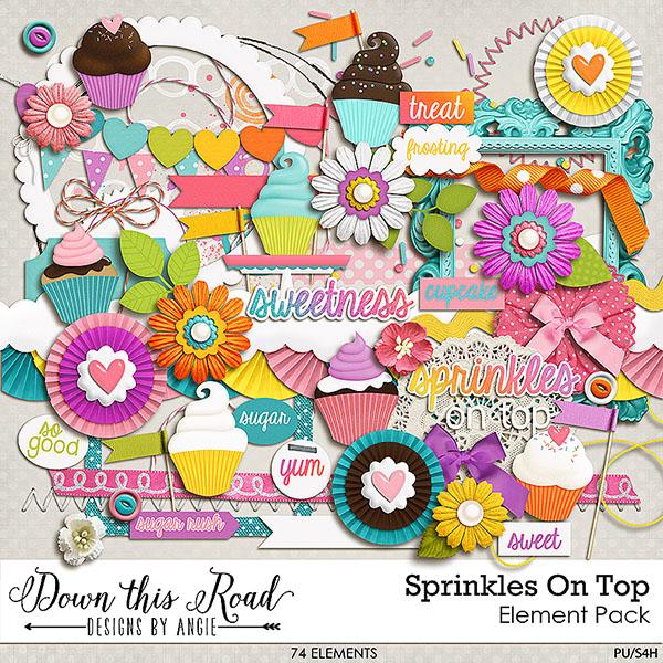 Sprinkles On Top Element Pack