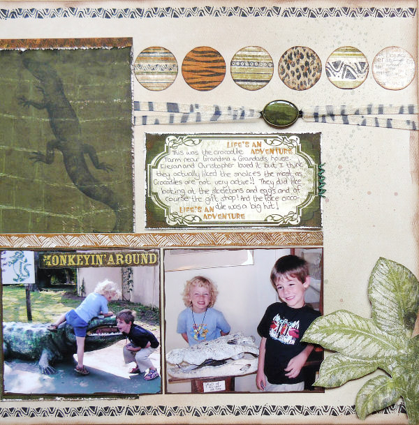 Layout by Carin McDonough