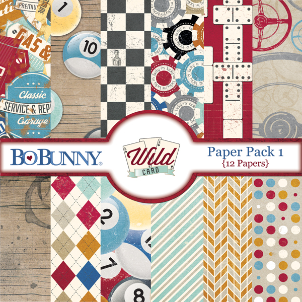 Wild Card Paper Pack 1