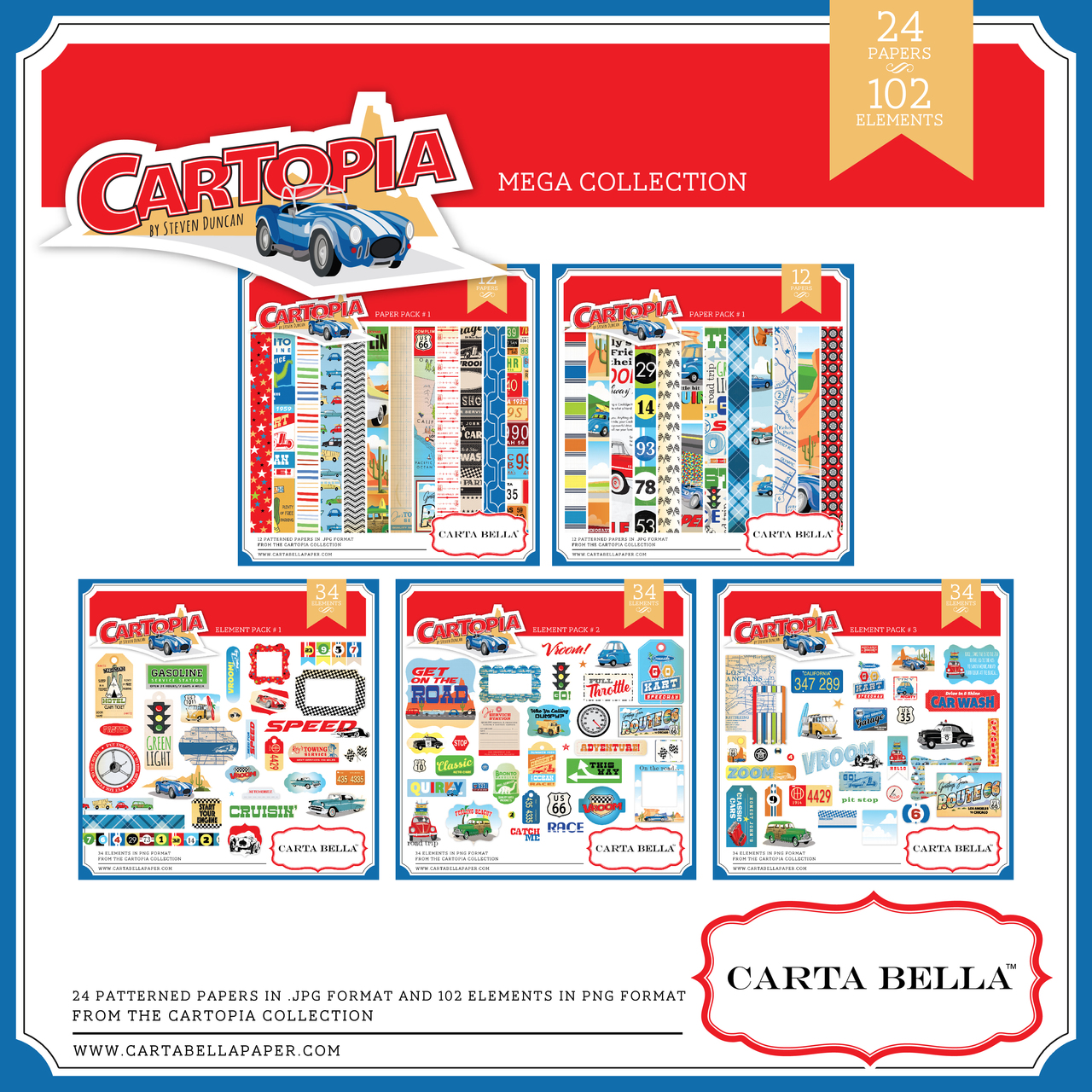 Cartopia Mega Collection