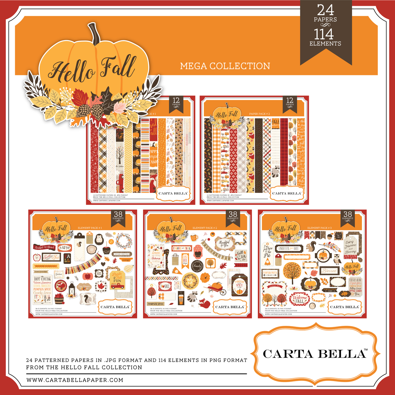 Hello Fall Mega Collection