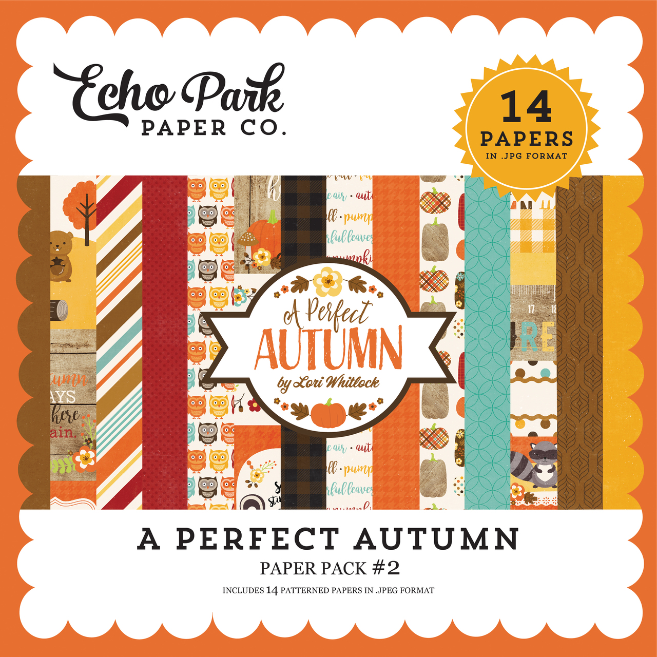 A Perfect Autumn Paper Pack #2