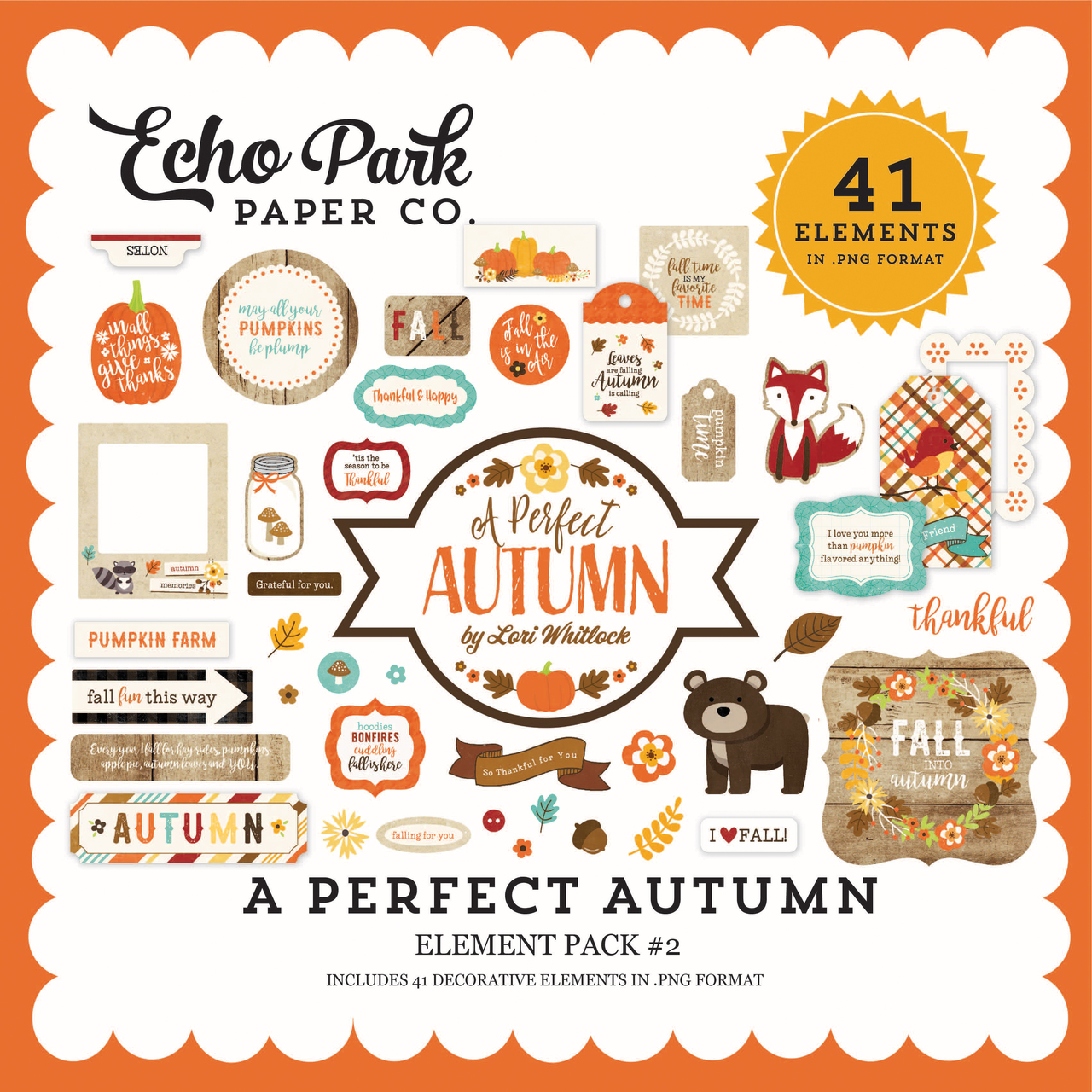 A Perfect Autumn Element Pack #2