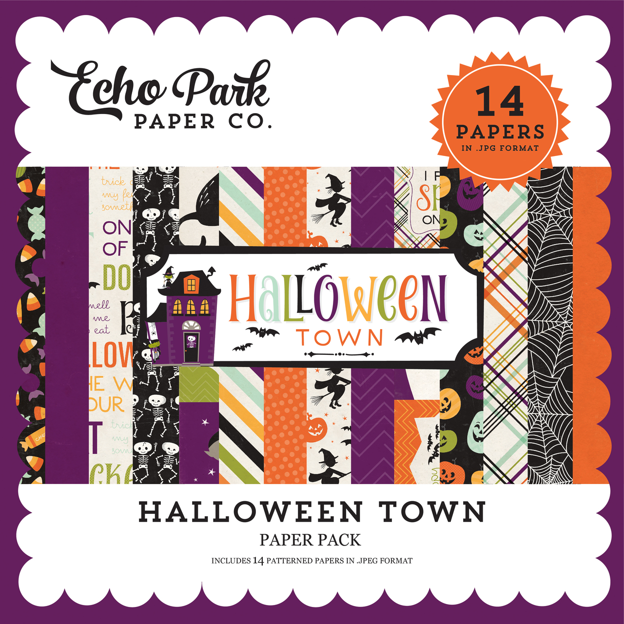 Halloween Town Paper Pack