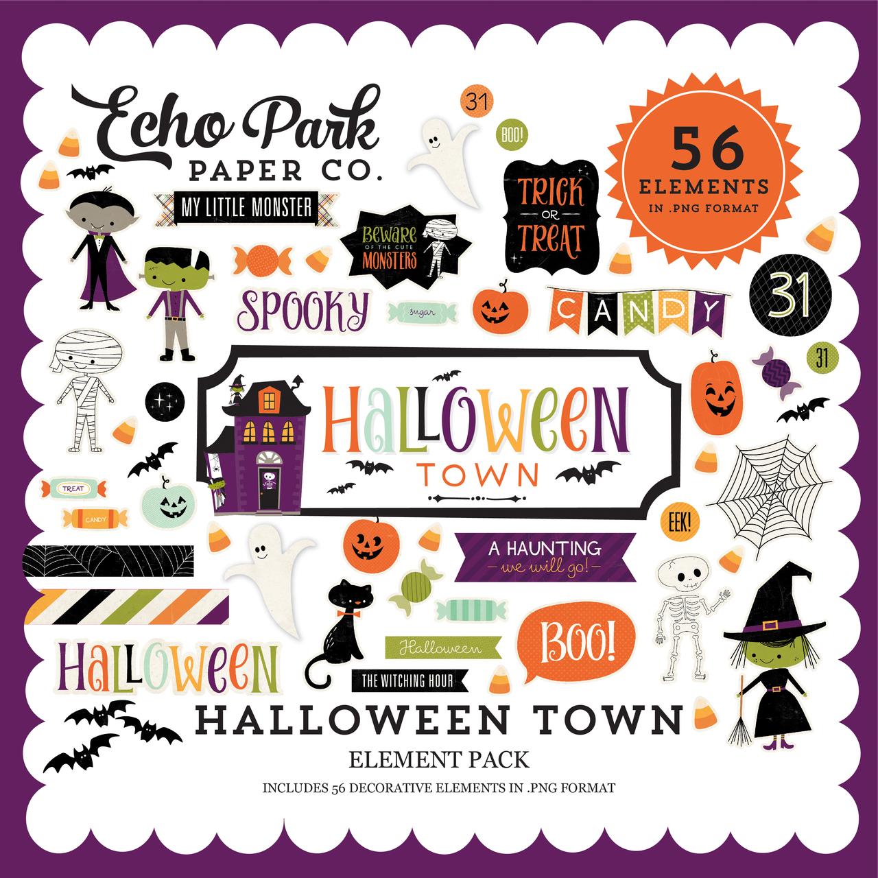 Halloween Town Element Pack