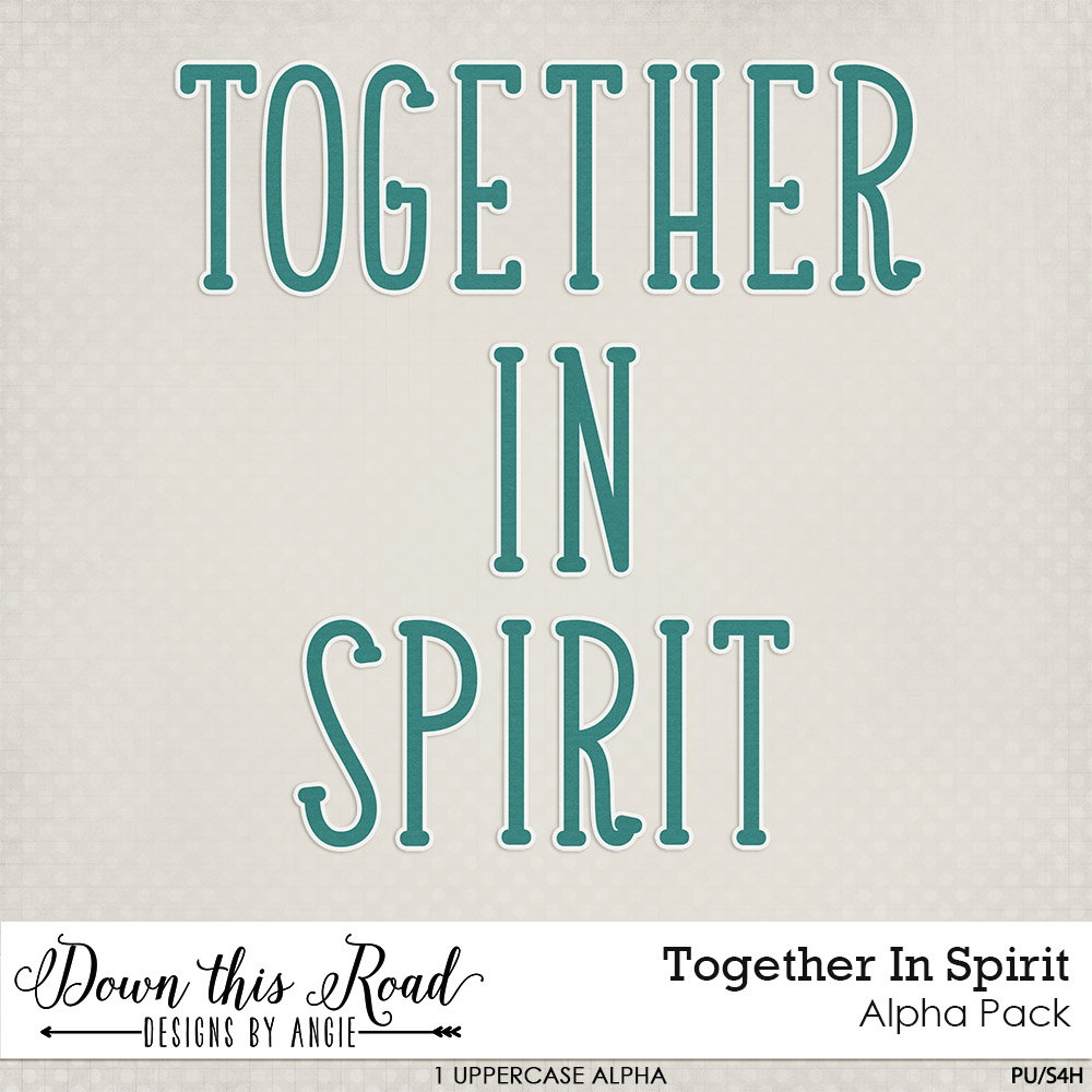 Together In Spirit Alpha Pack