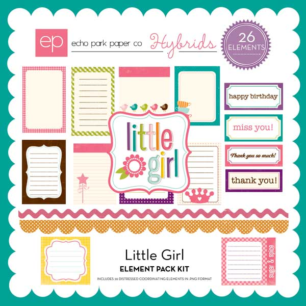 Little Girl Element Pack #2