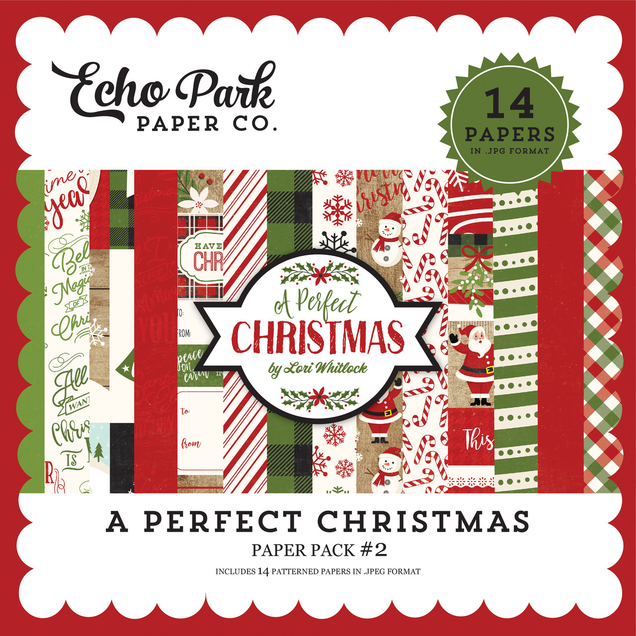 A Perfect Christmas Paper Pack #2