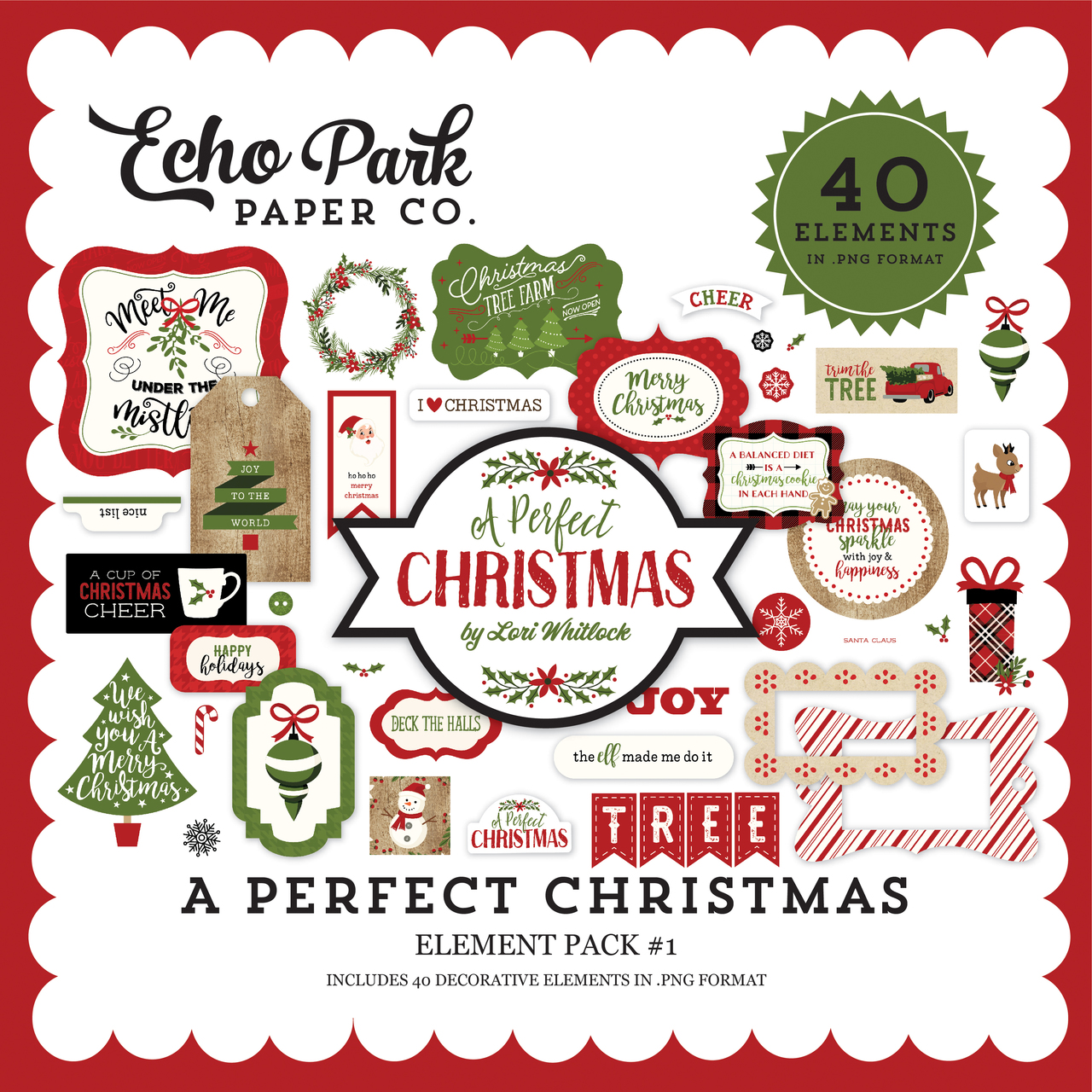 A Perfect Christmas Element Pack #1