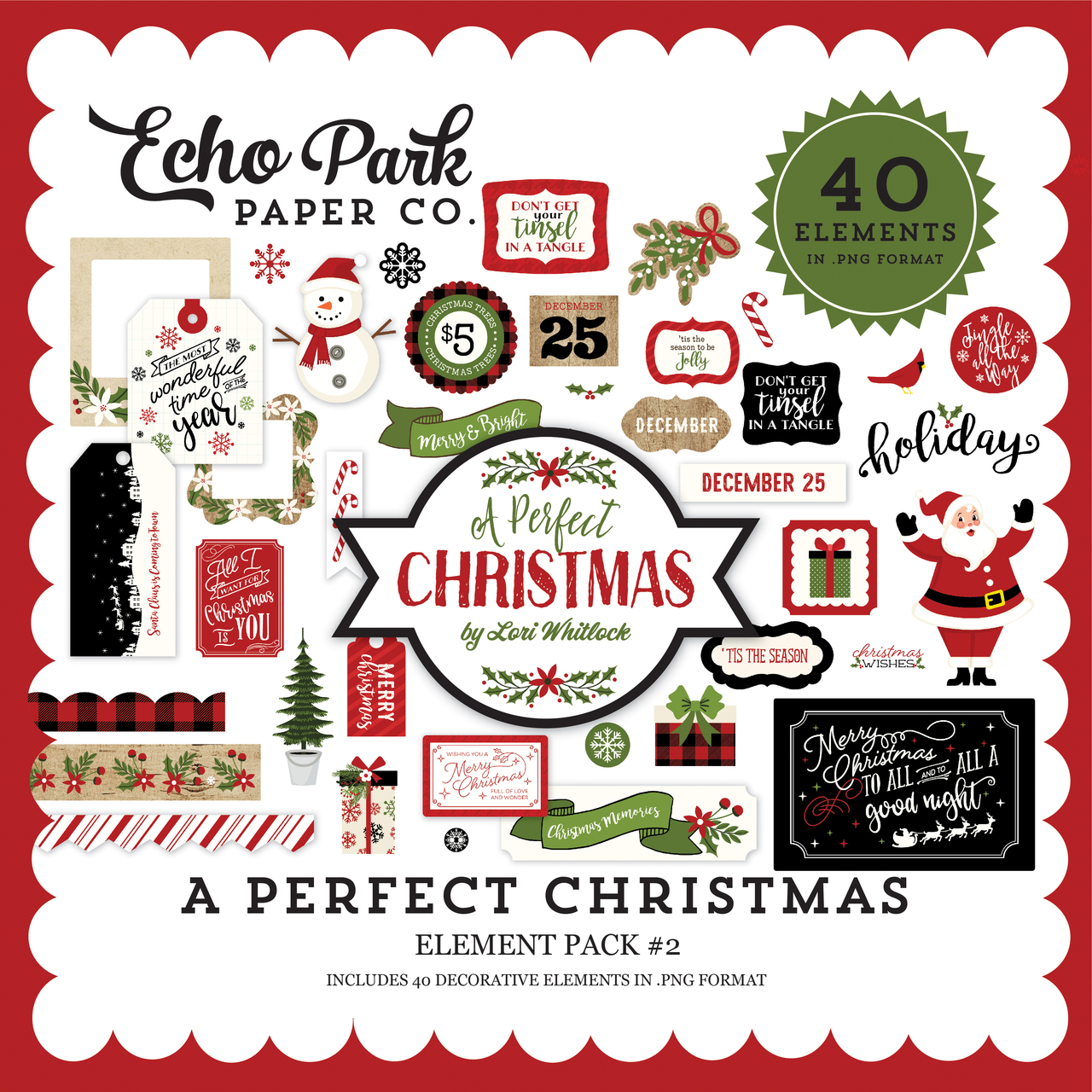 A Perfect Christmas Element Pack #2