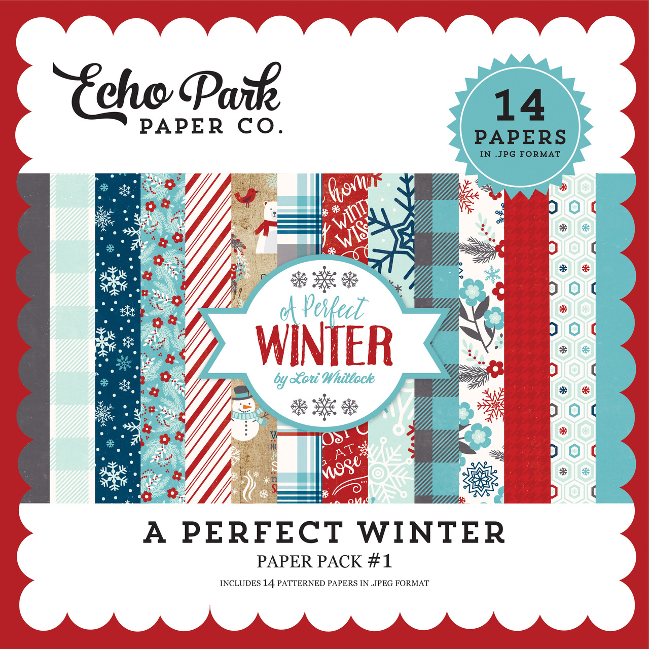 A Perfect Winter Paper Pack #1