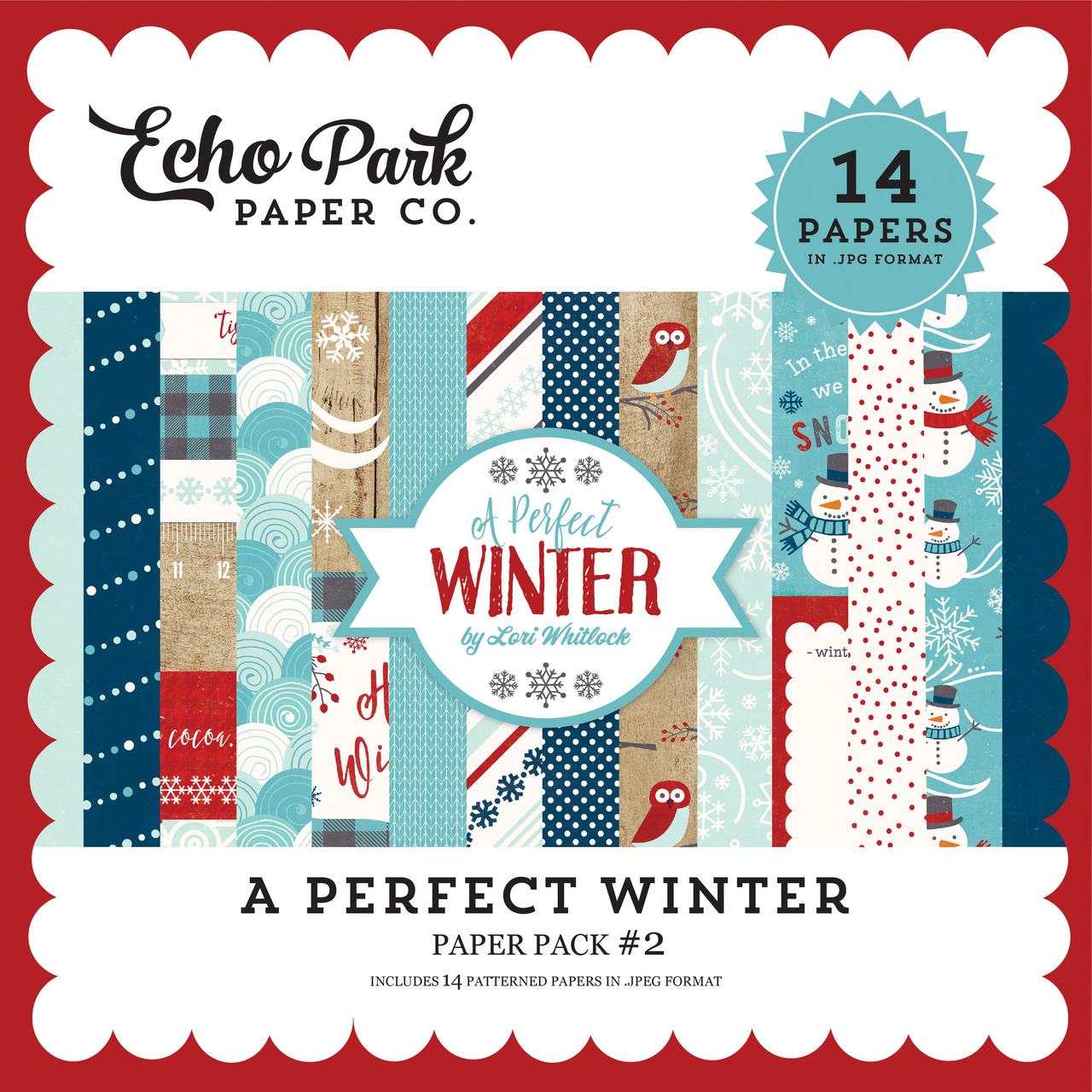A Perfect Winter Paper Pack #2