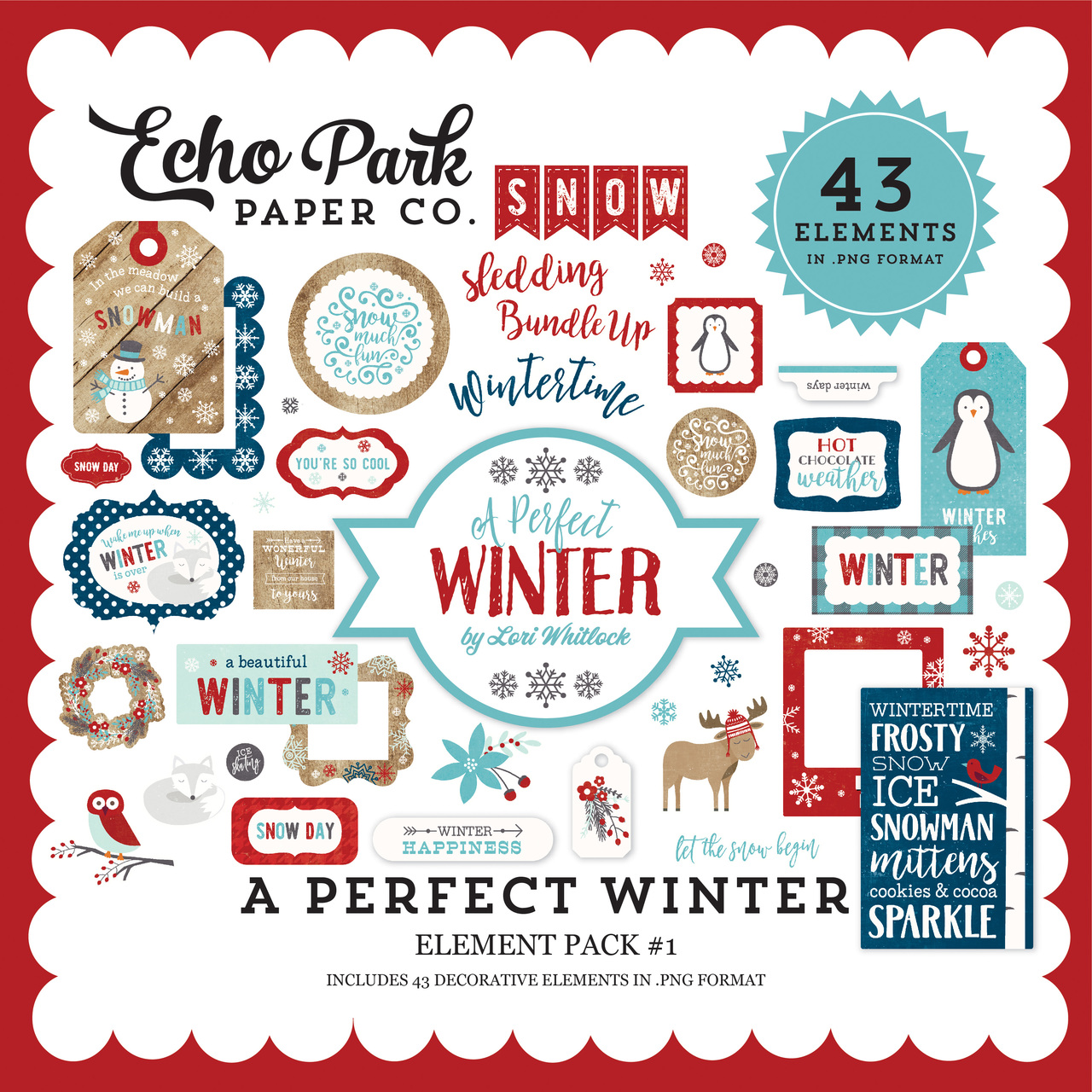 A Perfect Winter Element Pack #1