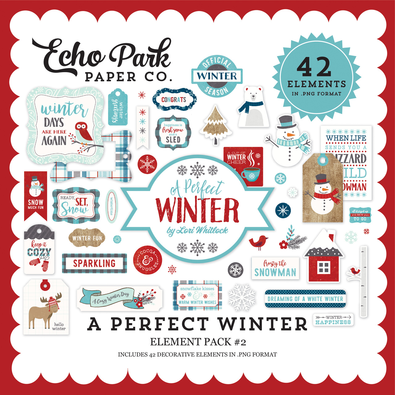 A Perfect Winter Element Pack #2