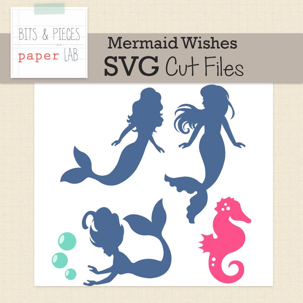 Mermaid Dreams Cut Files