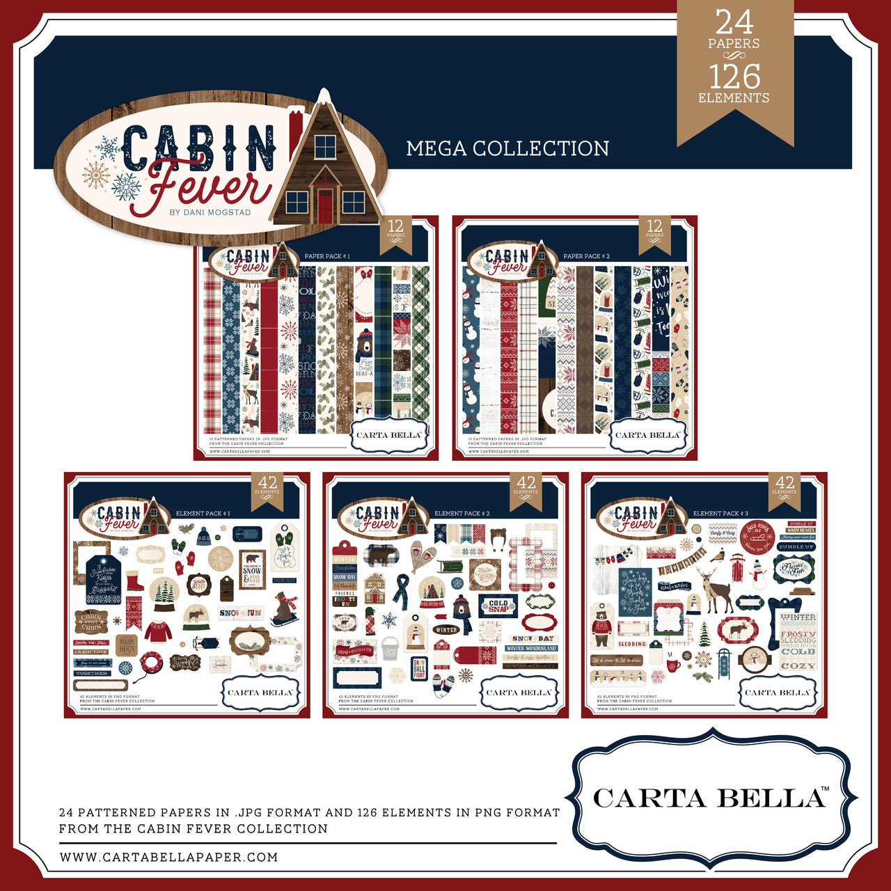 Cabin Fever Mega Collection