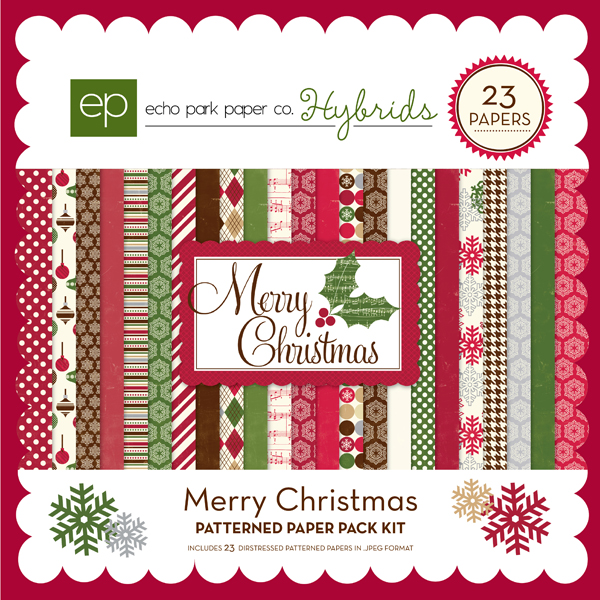 Merry Christmas Paper Pack 1
