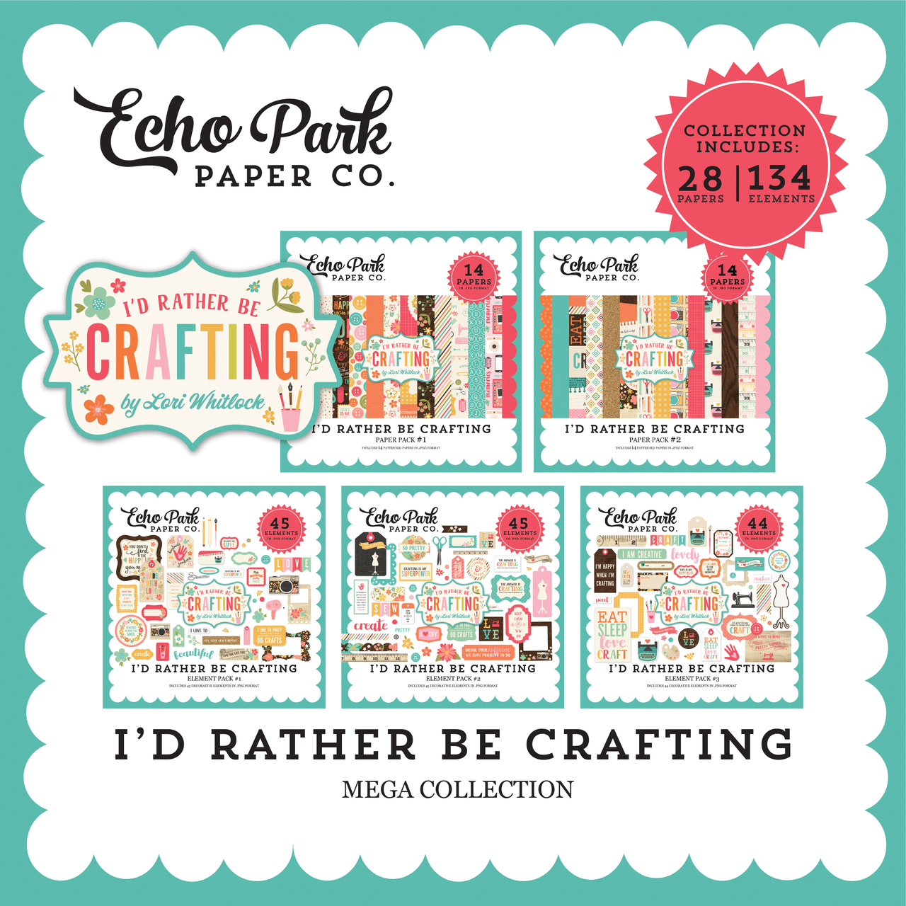 I'd Rather Be Crafting Mega Collection