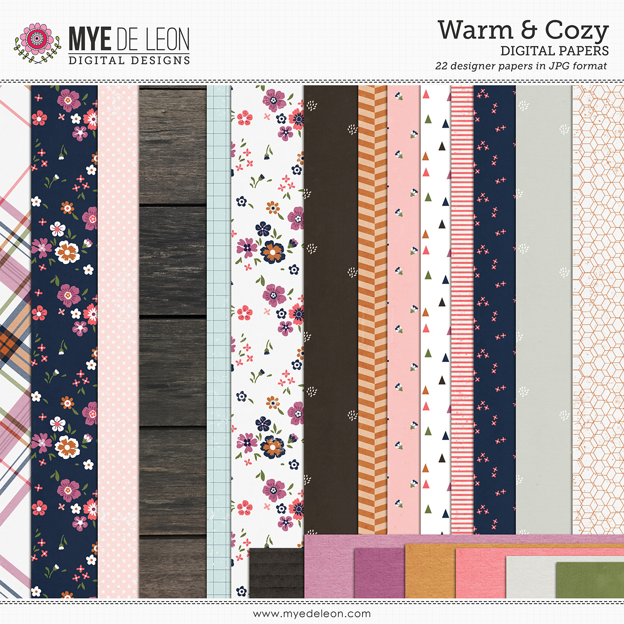 Warm & Cozy | Paper Pack