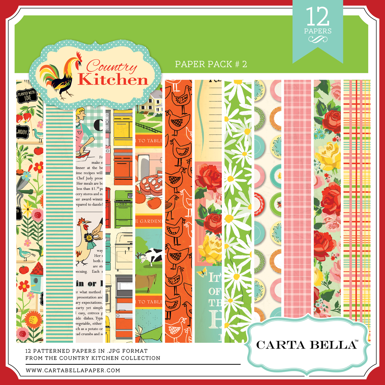 Country Kitchen Paper Pack #2