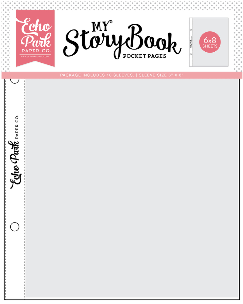 6x8 Pockets - 6x8 Pocket Page 10 Sheet Pack