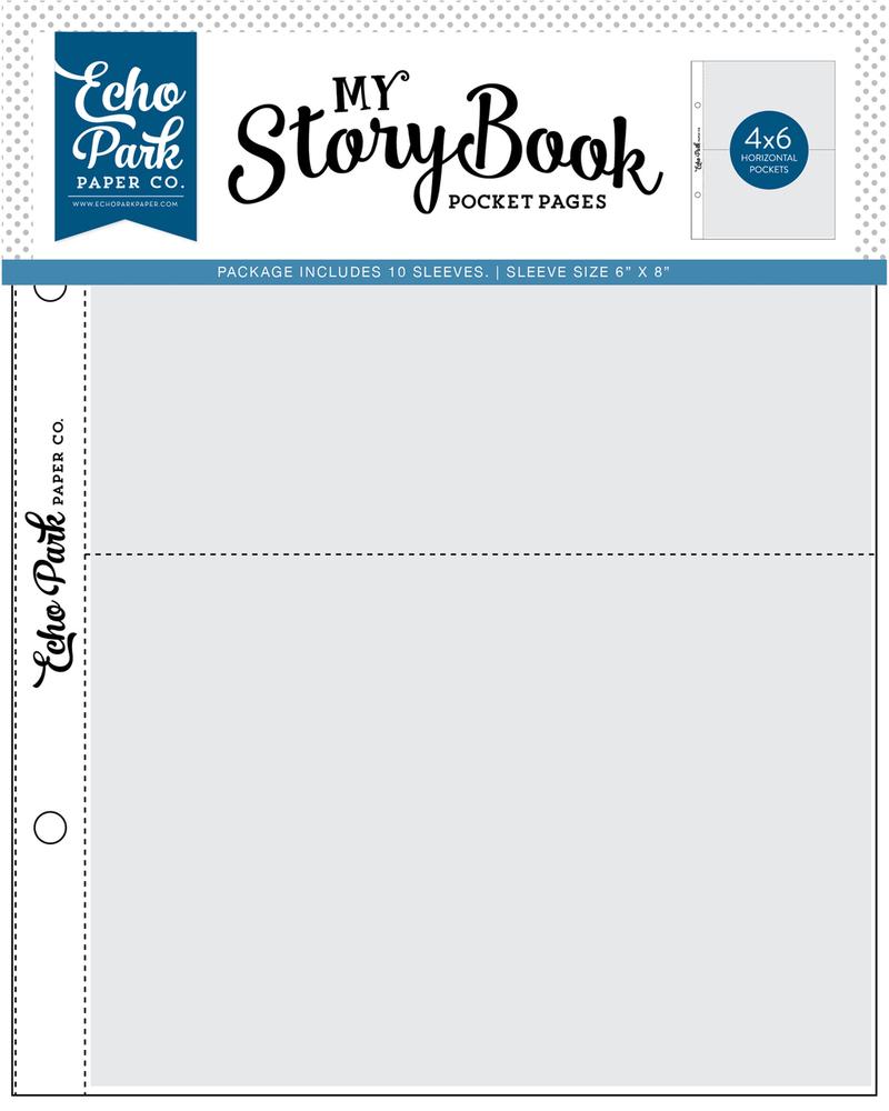 4x6 Pockets - 6x8 Pocket Page 10 Sheet Pack