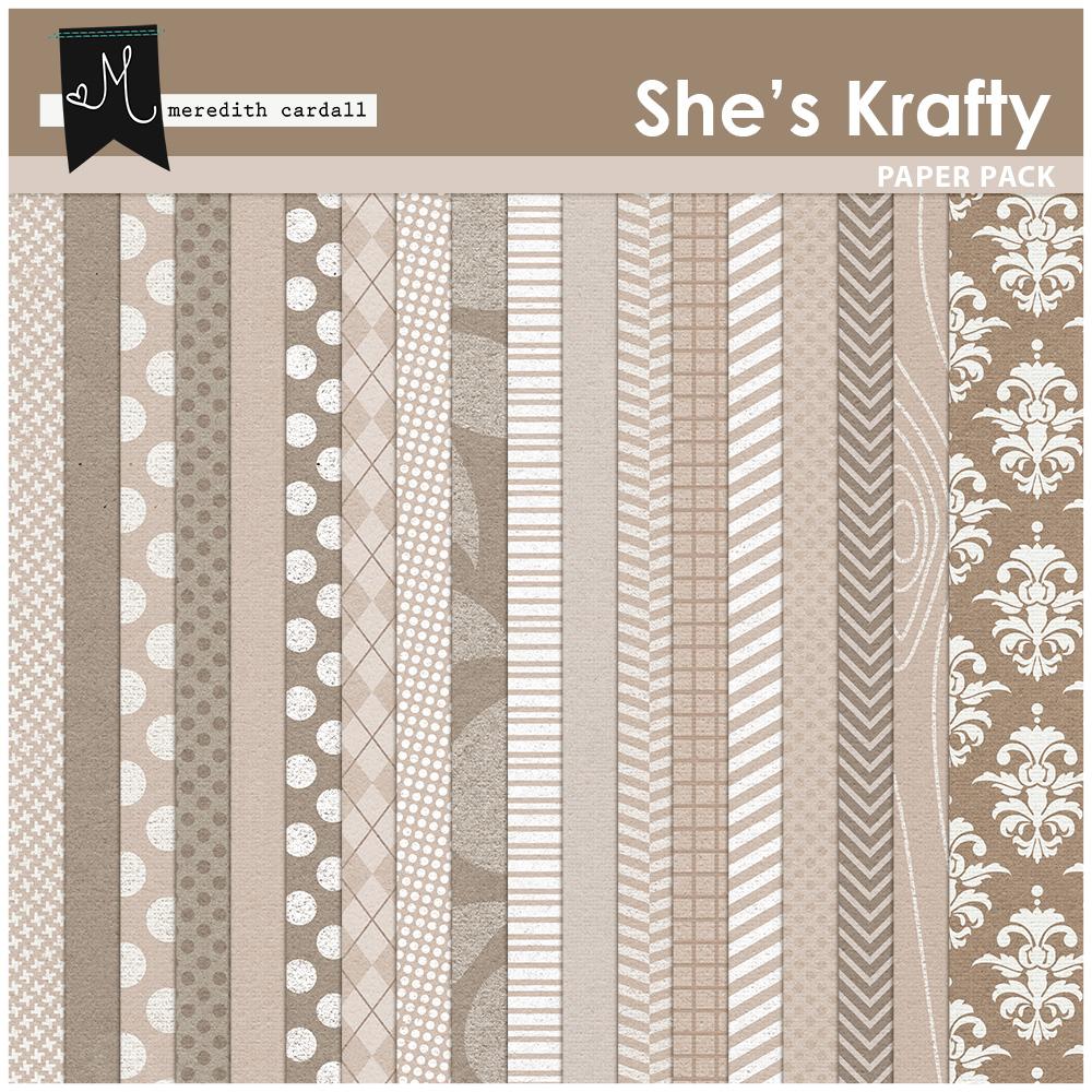 From The Vault: She's Krafty