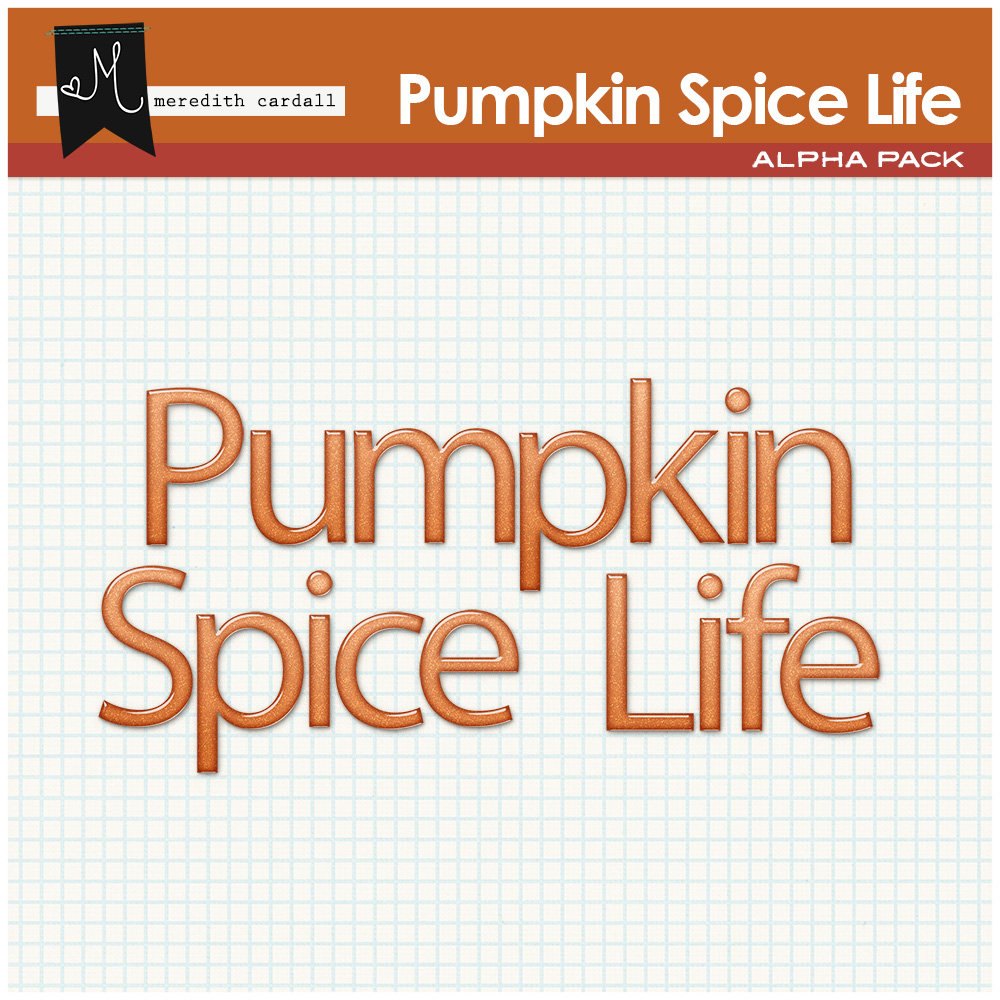 Pumpkin Spice Life Elements