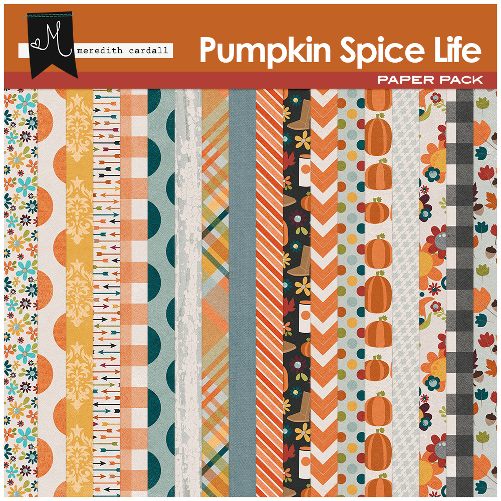 Pumpkin Spice Life Papers