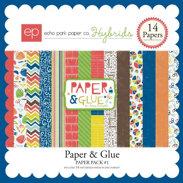 Paper & Glue Paper Pack #1