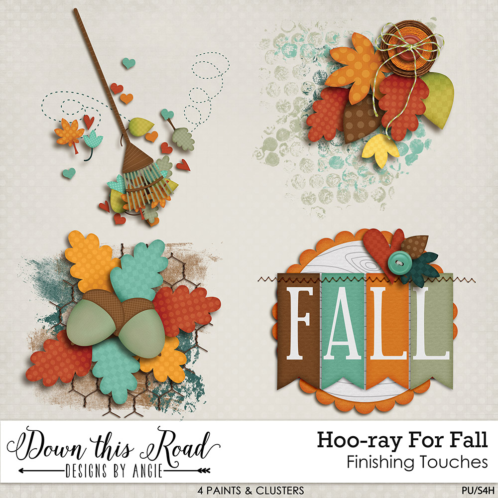 Hoo-ray For Fall Finishing Touches