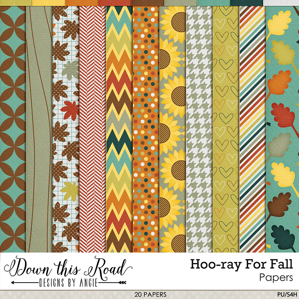Hoo-ray For Fall Paper Pack