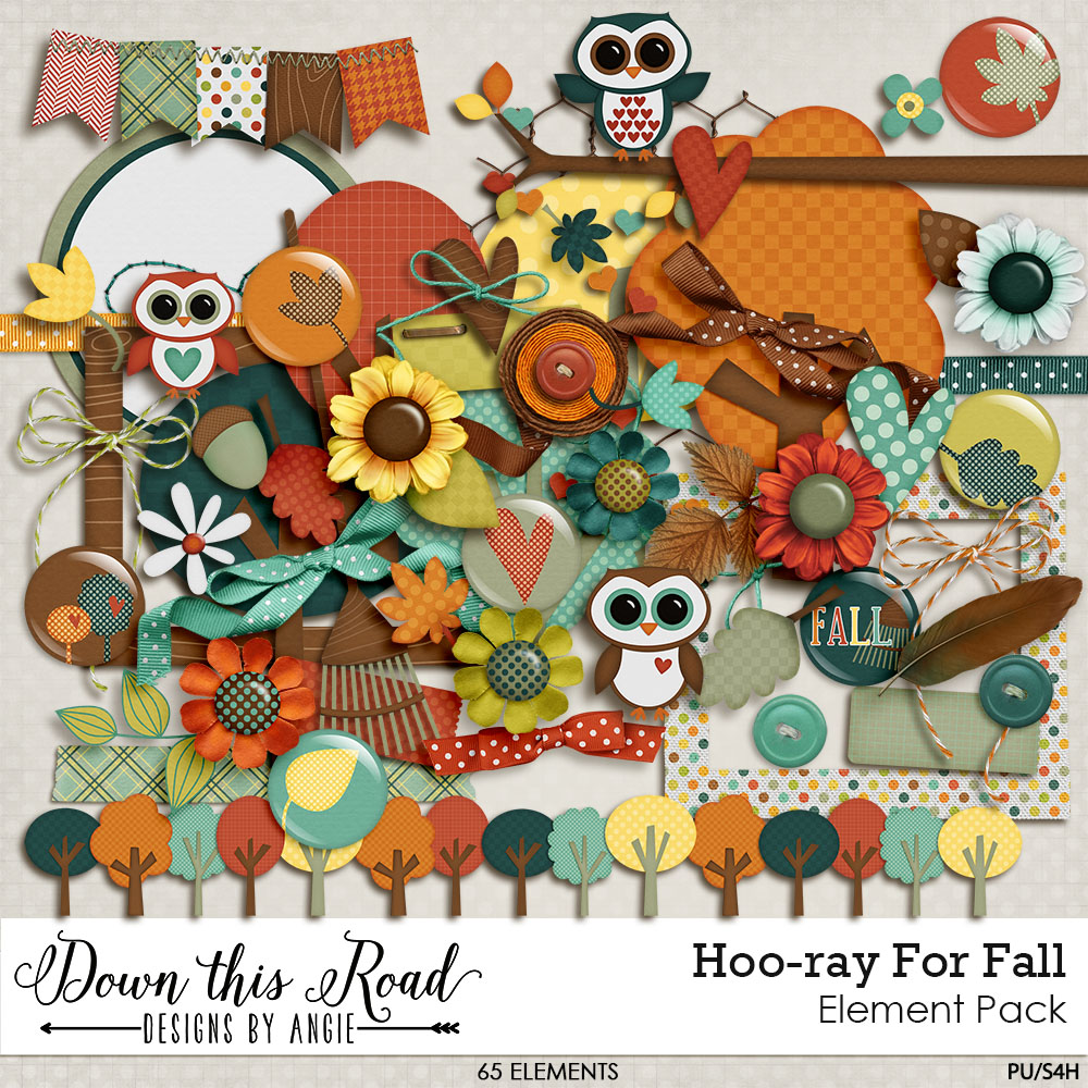 Hoo-ray For Fall Element Pack