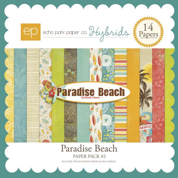 Paradise Beach Paper Pack #2