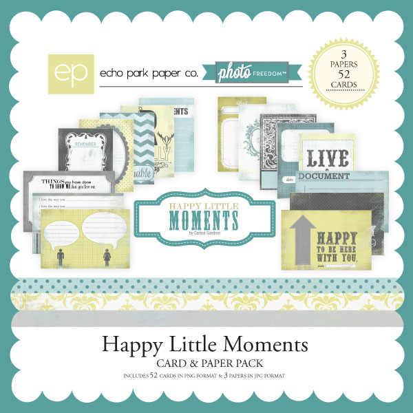 Photo Freedom Happy Little Moments Cards & Papers