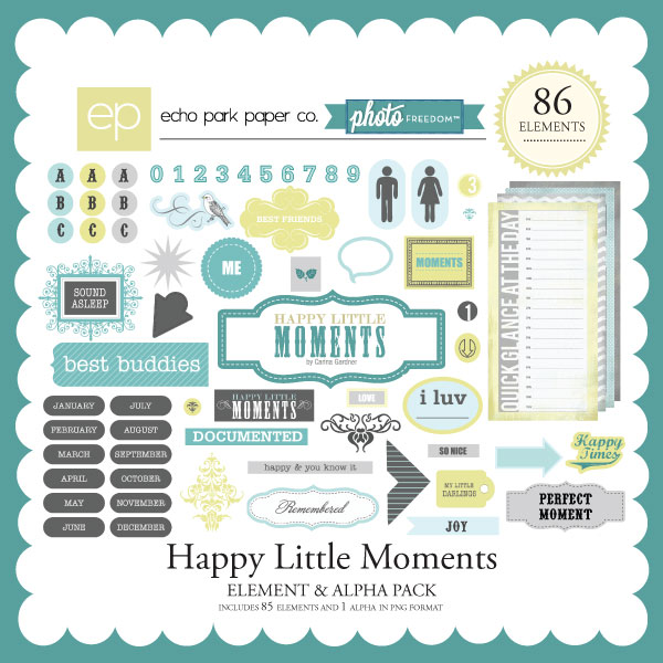 Photo Freedom Happy Little Moments Elements