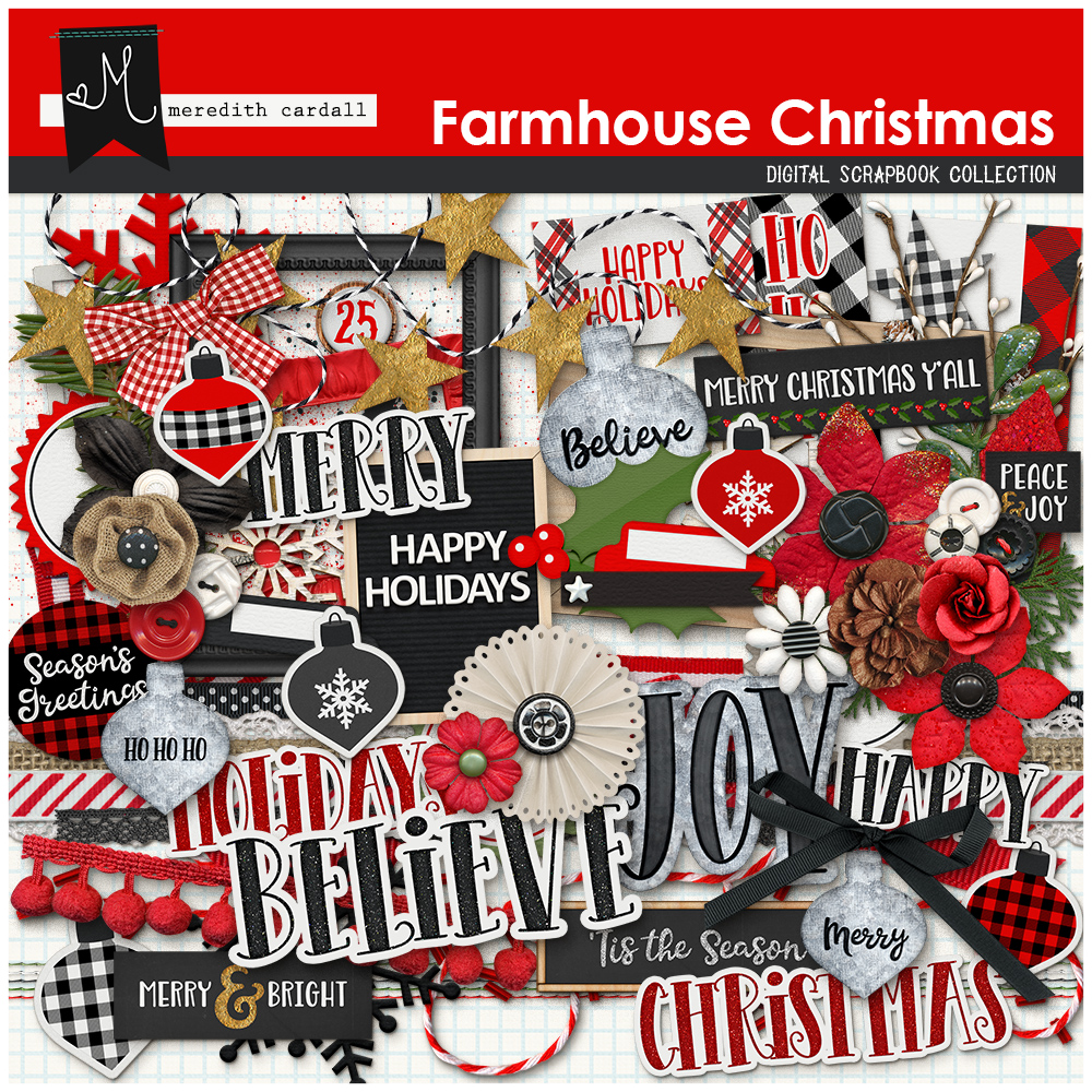 Farmhouse Christmas Elements