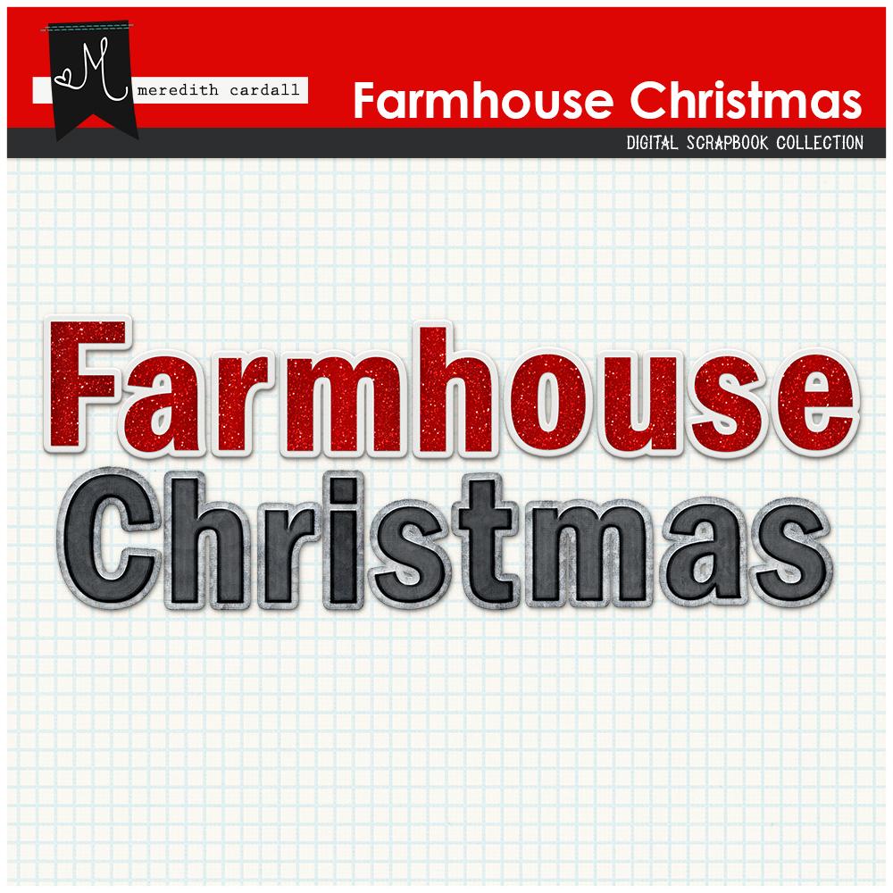 Farmhouse Christmas Kit